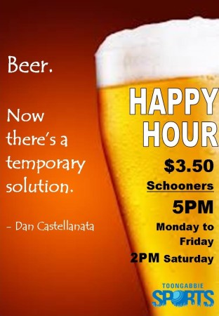 NEW Happy Hour - Temporary Solution