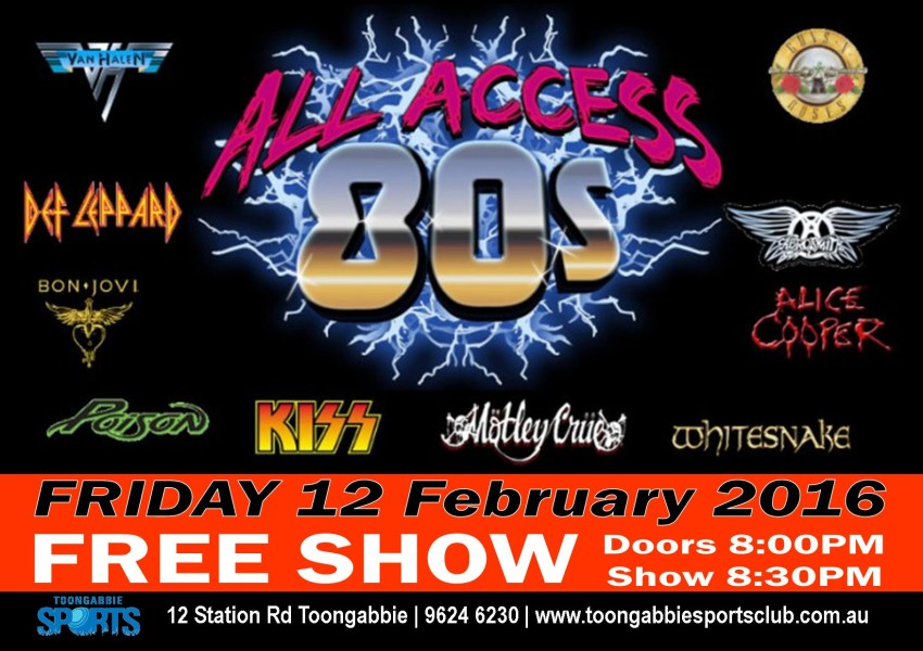 20160212 - Screen Advert All Access 80's