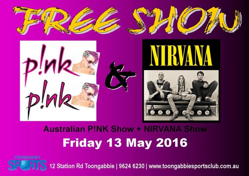 20160513 - Pink Nirvana Show